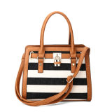 Bolsa de ombro dianteira decorativa Stripes Casual Stripes (MBNO040023)