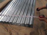 folha ondulada da telhadura da galvanização de 0.22mm Sgch para telhas de telhadura