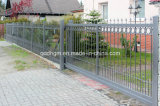 Schwarzes Powder Coated Steel Sliding Gate für Driverway