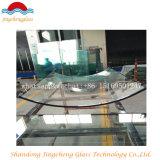 Vidrio aislador doble del vidrio 6m m para la pared de cortina