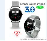 Bluetooth Smart Watch Phone avec détection de fréquence cardiaque