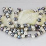 Snh 60inches collar de perlas de agua dulce de moda