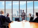 Büro-Partition mit aufgebaut in motorisierten Blendenverschlüssen in ausgeglichenem Isolierglas