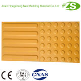 Azulejos táctiles del suelo de goma caliente de la venta hechos por Zs