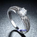 Кольца горячего Zirconia Jewelry- надувательства кубического латунные (R0835)