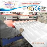 Whosale corrugou a máquina da telha de telhado da fibra da resina de Synthtic da folha da telhadura