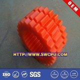 カスタマイズされたプラスチックナイロンまっすぐな減少の斜めギヤ