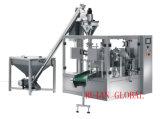 Máquina de embalaje de polvo rotatorio para bolsas de cremallera