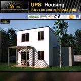 Moderner schöner grüner modularer niedrige Kosten-Fertighaus-Entwurf