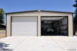 Oststandardmetallrahmen-vorfabriziertes Flugzeug-Aufhängungs-Gebäude