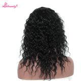 Pelucas naturales del cordón del pelo humano de la Virgen de la línea negra natural floja del pelo con el pelo del bebé