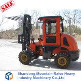 Diesel aller Gelände-Gabelstapler 3 Tonnen-chinesische Gabelstapler mit bestem Preis