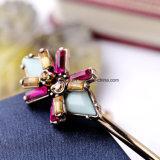 Armband van het Kristal van het Manchet van de Kleur van het Suikergoed van de Armband van de Legering van de Juwelen van de manier de Eenvoudige