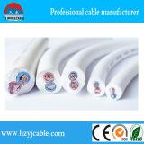 Кабель оболочки PVC 2 сердечников сердечников 3