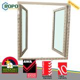 Portello di vetro francese economizzatore d'energia di profilo UPVC/PVC di Rehau