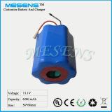 11.1V 6ah Rechargable Batterie 18650