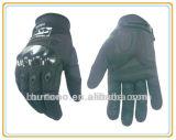 Мотоцикл зимы теплый кожаный участвуя в гонке перчатки спортов (966)