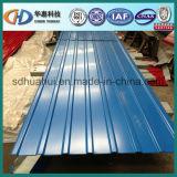 La feuille ondulée colorée d'acier/toiture/a ridé la toiture ! Sheel avec ISO9001