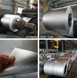 Bobina de aço galvanizada Galvalume de Dx51d+Az150 55% para a folha da telhadura