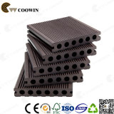 WPC 커피 Fsc/Ce/SGS/ISO 빈 플라스틱 합성 Decking 지면 140X25mm