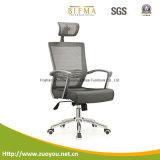 China-Fertigung-Schwenker-Ineinander greifen-Stuhl mit Fußrollen (A616B)