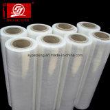 Desecho cristalino puro de la película de rodillo de la máquina del estiramiento del embalaje de la hoja de la máquina LLDPE Wraping