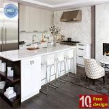 Keukenkast van pvc van Ritz de Hoge Glanzende met Uitstekende kwaliteit