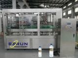 Máquina tampando de enchimento de lavagem engarrafada de Monoblock da água do Sell animal de estimação quente