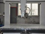Router novo do CNC de 4 linhas centrais de Omni para a fatura do molde