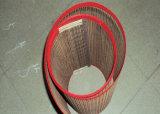 Cinghia della maglia del Teflon, cinghia della maglia di PTFE