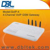 Gateway GoIP-4 (canal de DBL VoIP G/M de la tarjeta de 4 SIM)