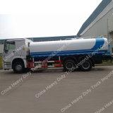 Sinotruk HOWO 6X4 물뿌리개 물 탱크 트럭