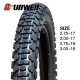 Los neumáticos de China fabricante de motocicletas 2.50-17 2,75-17 3,00 / 17 2.75X18 3,00-18