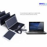 High Effi. 23.5% Sunpower Folding Solar Panel Charger 60W Double Output 15V / 5vportable Carregador Solar para Laptop Tablet PC Bateria de carro Celulares