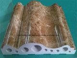 Linha de produção de mármore de imitação nova da placa de contorno do PVC de Devoloped