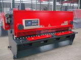 Tipo corte do freio hidráulico da série da máquina QC11k da tesoura do CNC