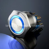Iluminado Vandal Resistente Empuje el interruptor de botón (L16, L19, L22, L25)