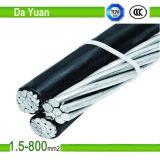 Lv-und Millivolt-elektrisches kabel mit drei Kernen, Kabel 3core