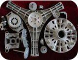 Di alluminio la parte della lavatrice della pressofusione con lavorare di CNC