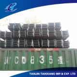 Viga laminada en caliente del acero I de la construcción de acero Q235 de la sección