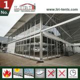 돔 모양 2층 두 배 Decker 큰천막 천막 구조; 이동할 수 있는 집; 2층 천막