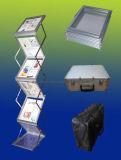 Carrinhos de dobramento da literatura do suporte do folheto (FT-DM)