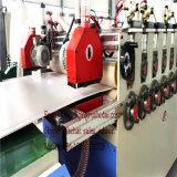 Cadena de producción de la capa baja del suelo de la espuma plástica de la planta de la tarjeta de suelo del PVC
