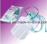 Ht-0450 Hiprove Brand Medical Non-Breather Oxygen Mask avec Reservoir Bag