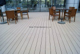 Decking estratificado impermeável do revestimento WPC de 100%
