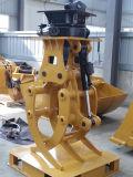 Conexión del excavador del surtidor de China del gancho agarrador del registro del excavador