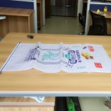 Bolso impermeable de China del bolso tejido Packaging/PP del plástico para el empaquetado del cemento