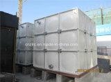 Recipiente composto do tanque de armazenamento da água da fibra de vidro resistente UV