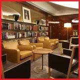 Mobilia stabilita di ospitalità di ricorso dell'hotel del sofà di legno del salone