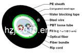 Cable de Fibra Óptica para el Exterior GYXTW